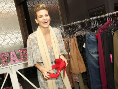 BEVERLY HILLS, CA - DECEMBER 14:  Rachel McCord attends the JustFab and ShoeDazzle Get Glam For The Holidays Event at Maven Beverly Hills on December 14, 2015 in Beverly Hills, California.  (Photo by Rachel Murray/Getty Images for JUSTFAB.com)